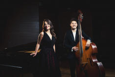 Duo LANA & double bass_2